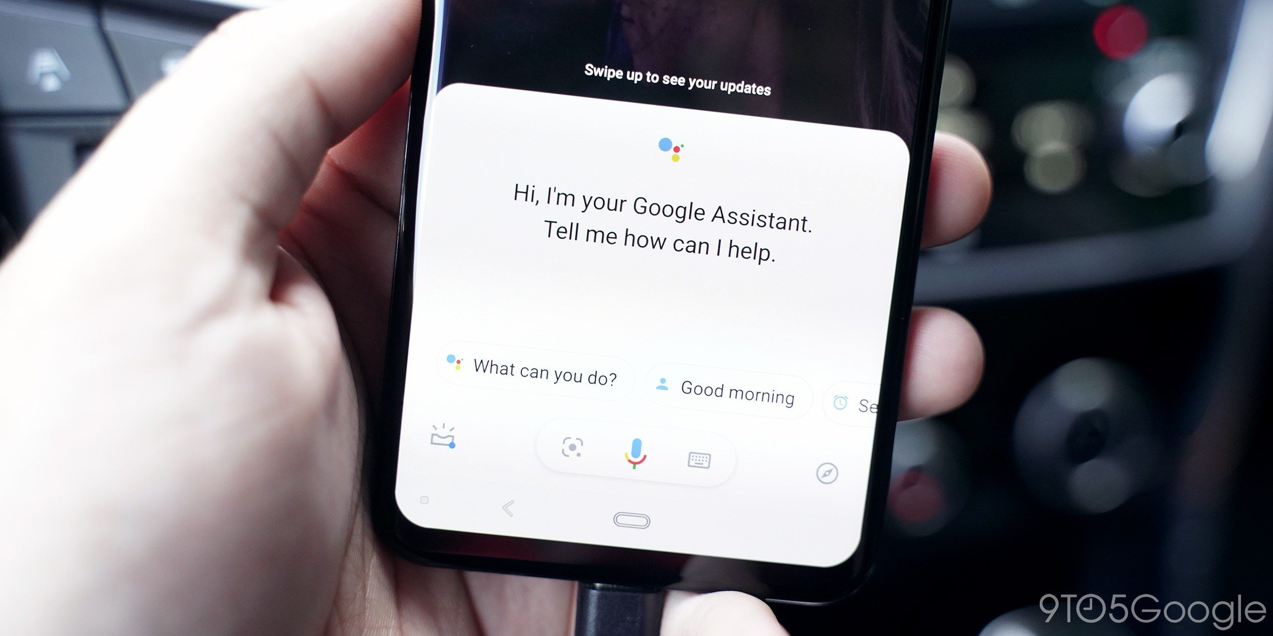 Google Assistance with a new feature to help you automatically remember where you parked your car