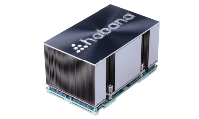New Gaudi Artificial Intelligence training processor launched by Habana Labs