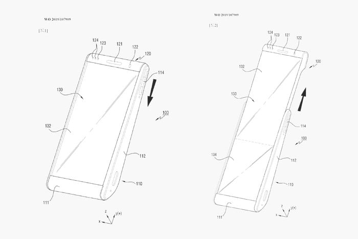 Samsung patents reveal rollable smartphone displays