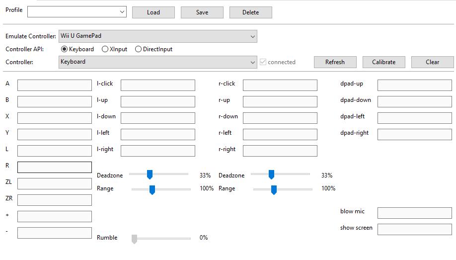 Configurando el emulador de Cemu