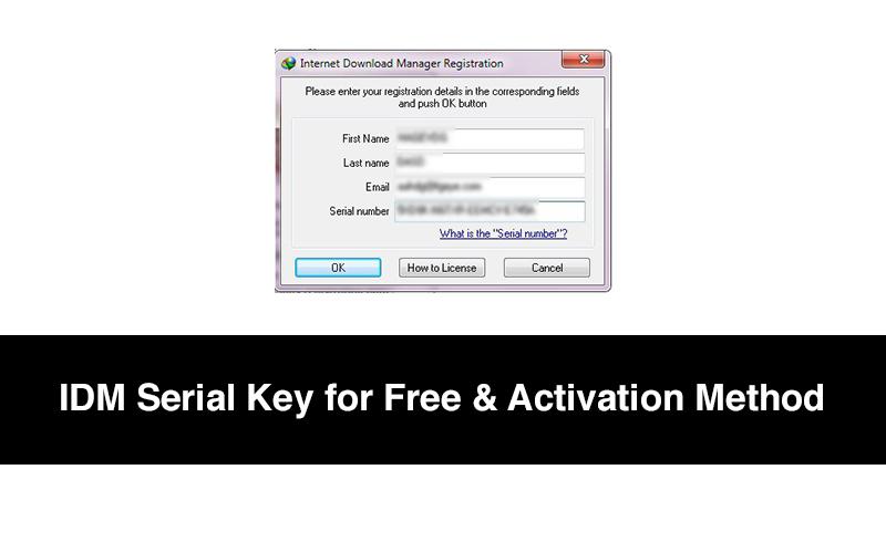 IDM Serial Keys