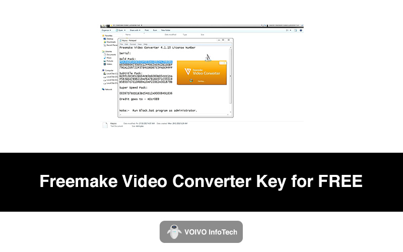 Freemake Video Converter Key for FREE