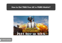 How to Get 7000 Free UC in PUBG Mobile