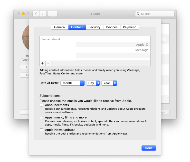go to the FaceTime preferences and decide the email address