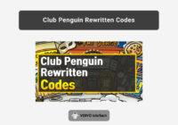 Club Penguin Rewritten Codes for 2020