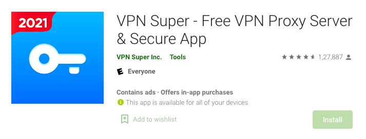 Free VPN unlimited proxy