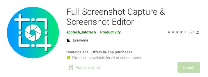 Full Screenshot Capture & Screenshot Editor