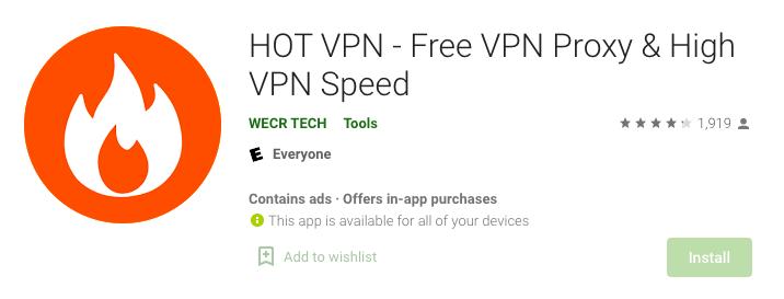 Hola Free VPN Proxy