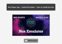 Nox Player App [Android Emulator]
