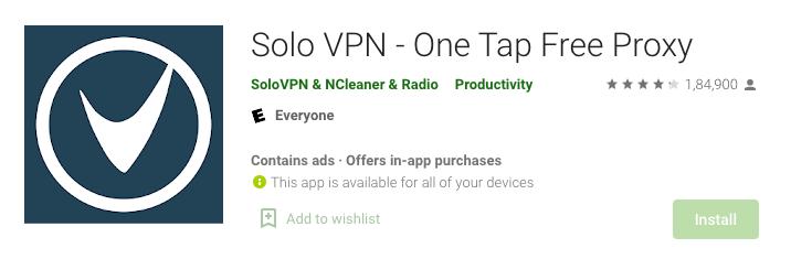 Solo VPN