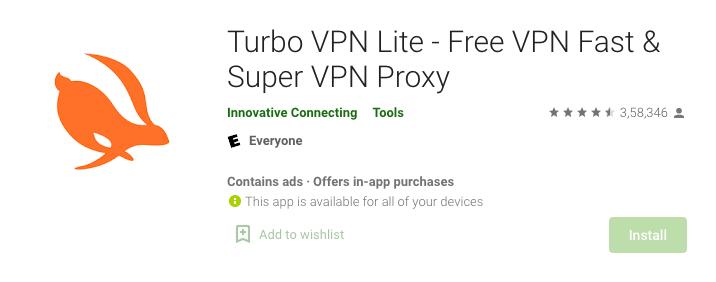 Turbo VPN lite