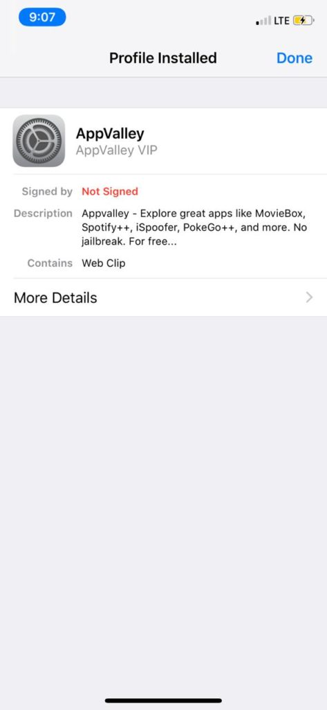 download and Install AppValley