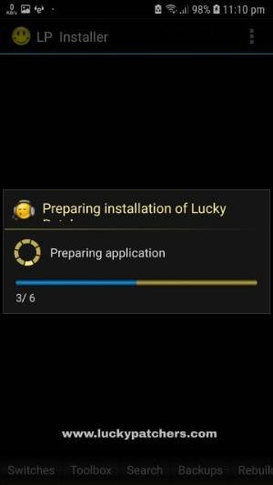 preparing applcation option