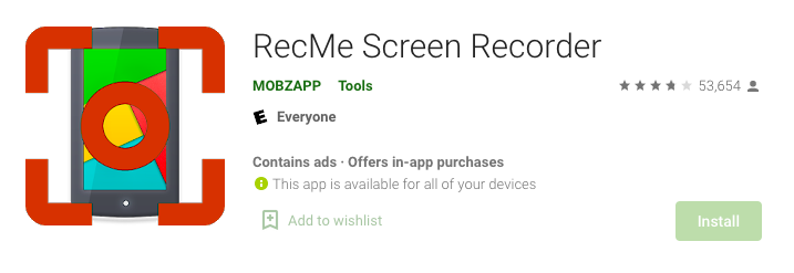 RecMe Free Screen Recorder