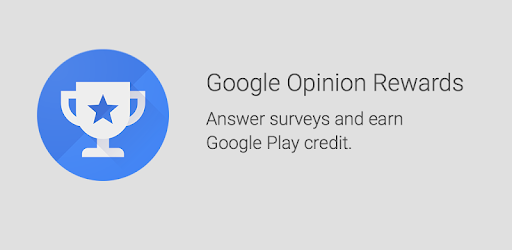 Get as a Google opinion rewards