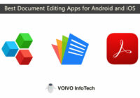 Best Document Editing Apps for Android and iOS