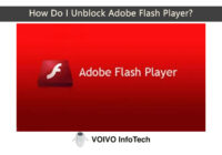 How Do I Unblock Adobe Flash Player