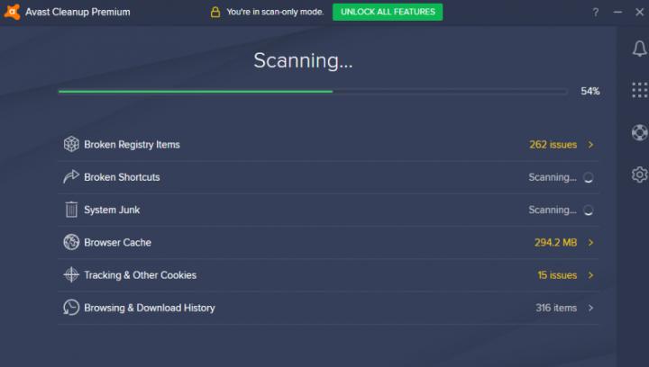 broken registry items - scanning