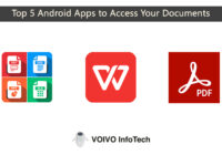 Top 5 Android Apps to Access Your Documents