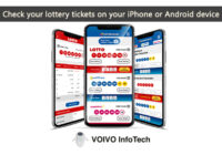 Check your lottery tickets on your iPhone or Android device